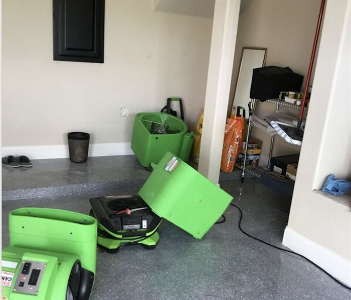 Flooding in a Garage vs in your Home After